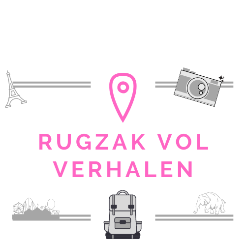 Logo rugzak vol verhalen