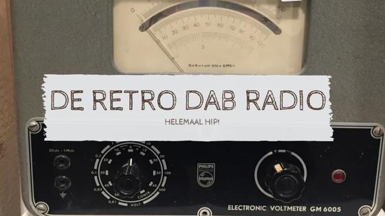 De retro DAB Radio