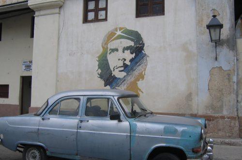 Straatbeeld Che Guevara