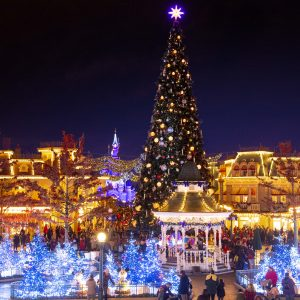 Kerst in disneyland Parijs