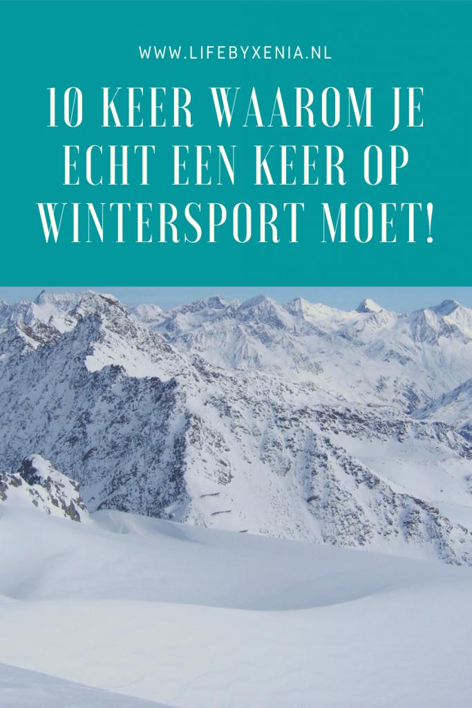 Pinterest afbeelding wintersport