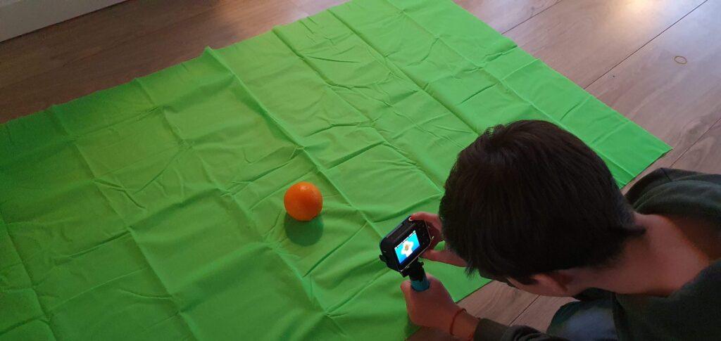 Vtech Vloggercam Life by Xenia green screen