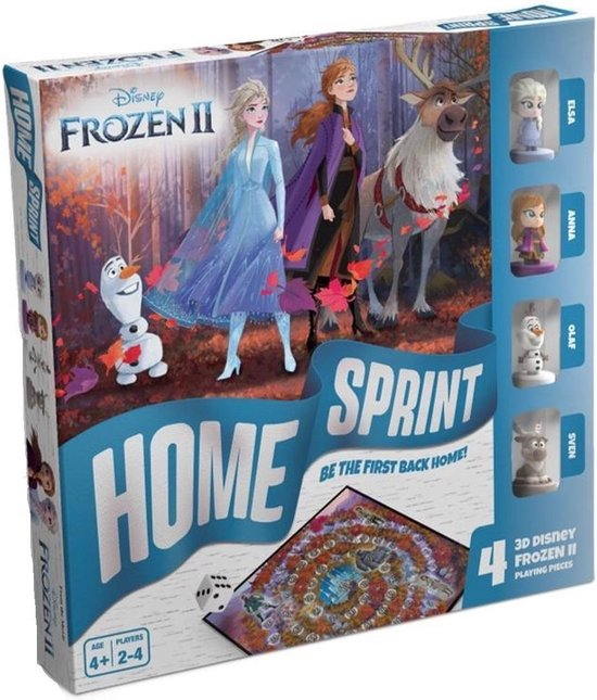Frozen 2 ganzenbord