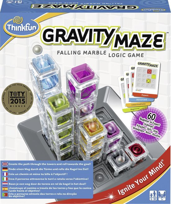 Gravity Maze slimme kleuter