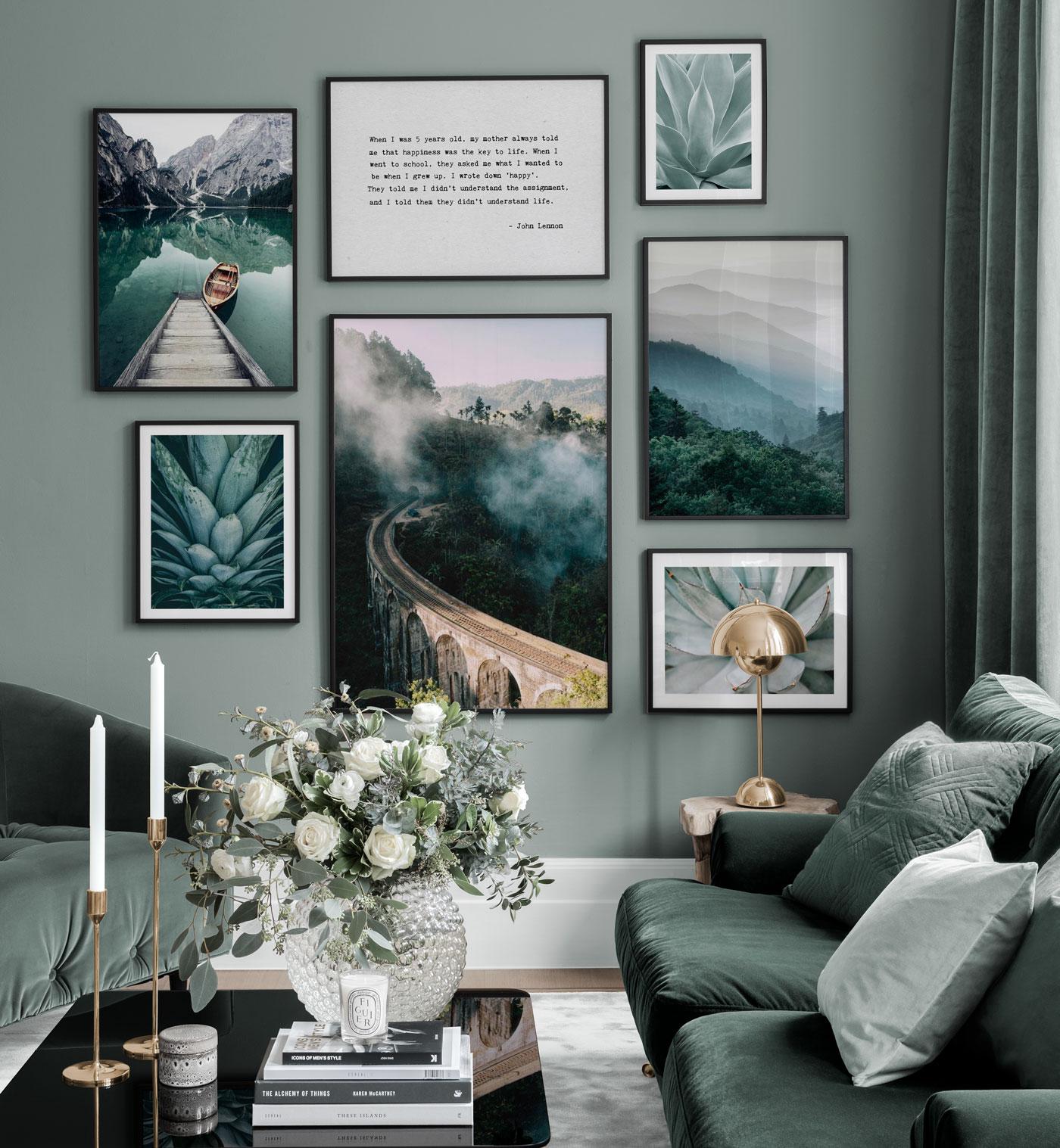 Poster trend 2021 natuur groen Posterstore