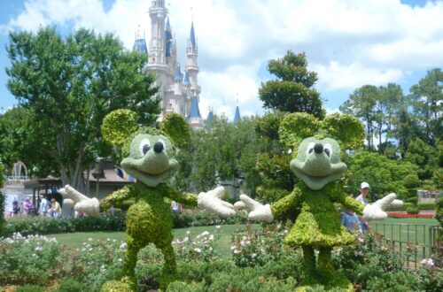 Disney World Orlando Mickey Minnie