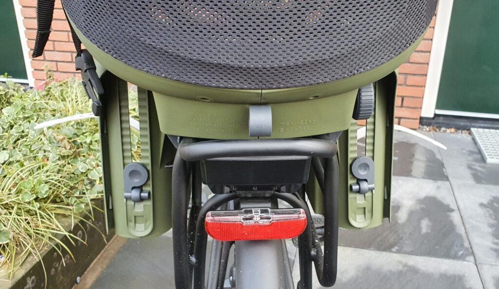 Qibbel Air het lichtste fiets stoeltje
