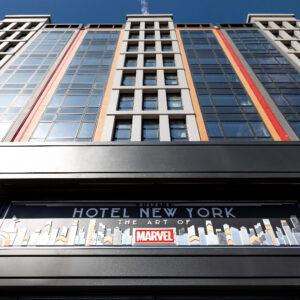 Disneys Hotel New York The Art of Marvel