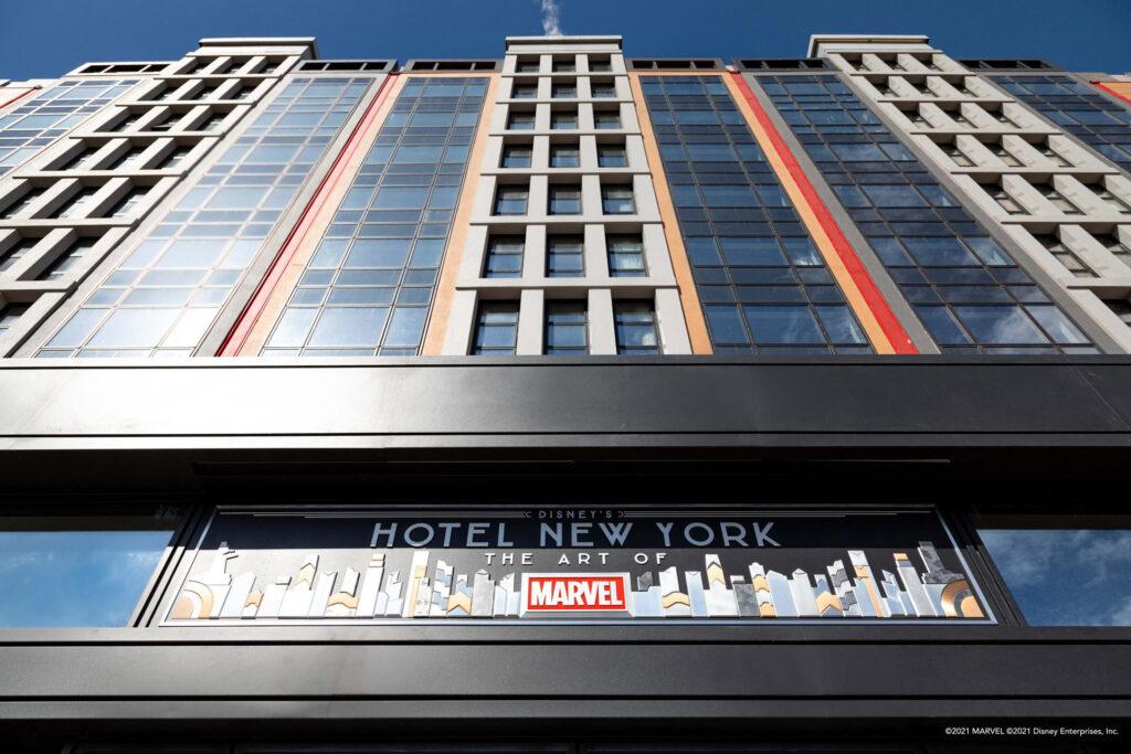 Disney Hotel New York The Art of Marvel