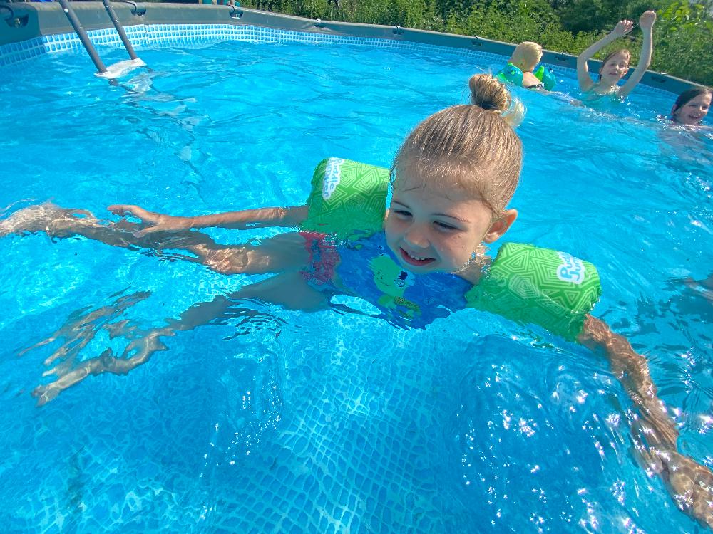 Zwemmen zonder zorgen met de Sevylor Puddle Jumper