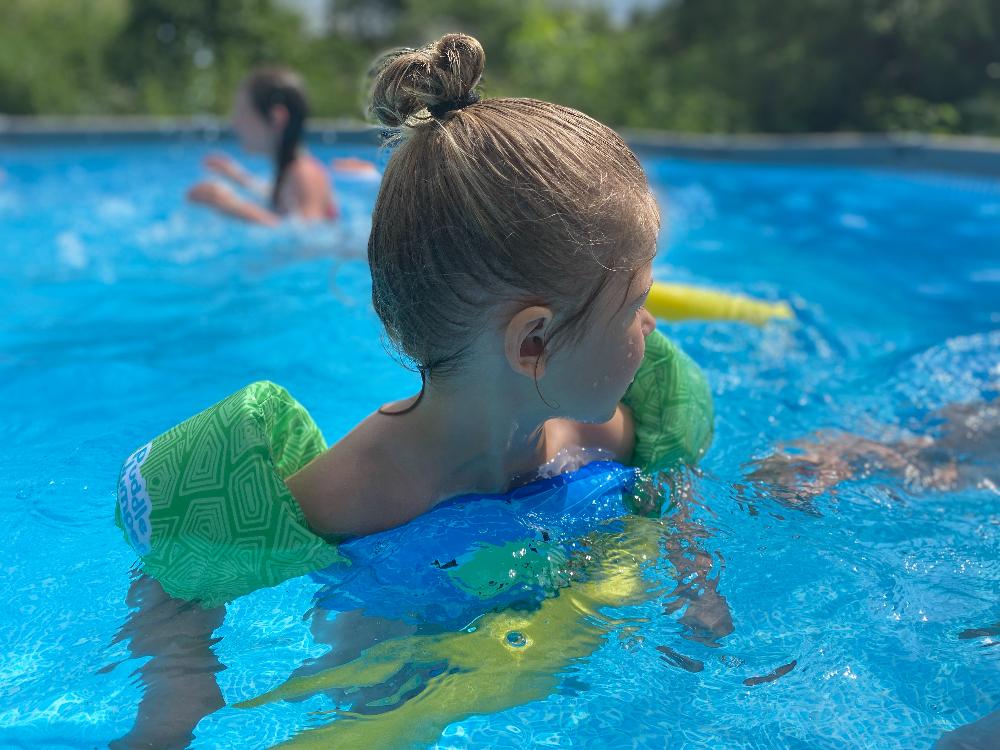 Zwemmen met Puddle Jumper