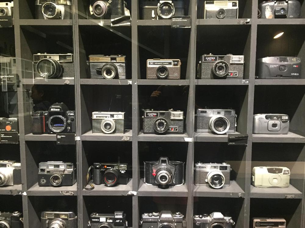 verschillende camera's
