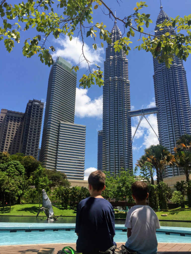 Petrona Twin Towers Kuala Lumpur vakantiefoto's