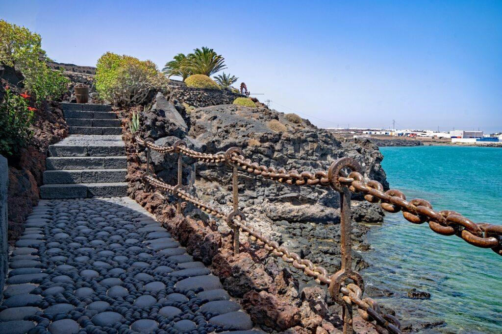 Lanzerote Arricife Canarische Eilanden