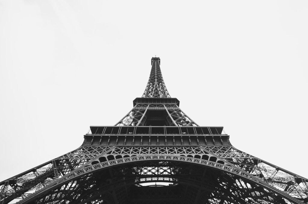 Eiffeltoren Parijs vakantiefoto's