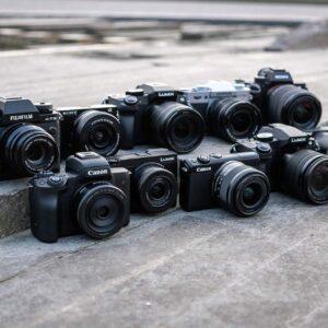 Systeemcamera vakantiefoto's
